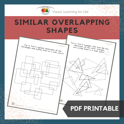 Similar Overlapping Shapes
