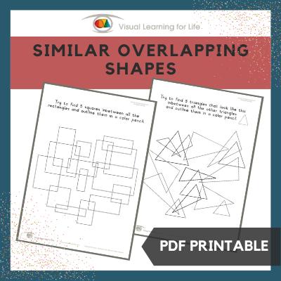 Similar Overlapping Shapes