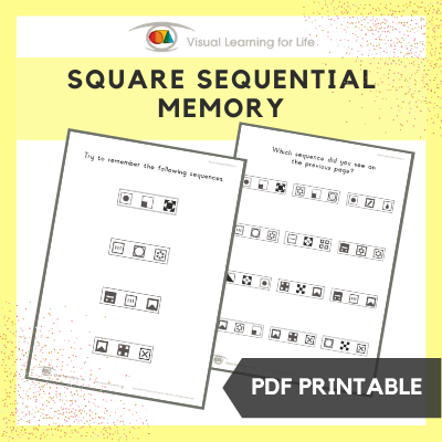 Square Sequential Memory