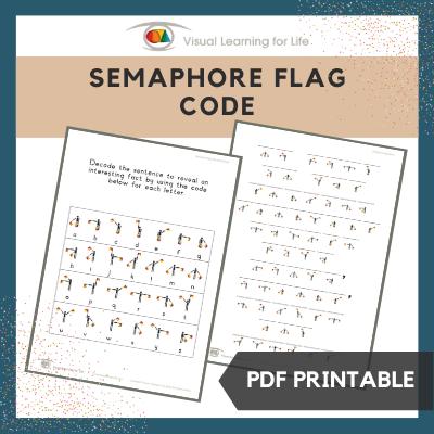 Semaphore Flag Code