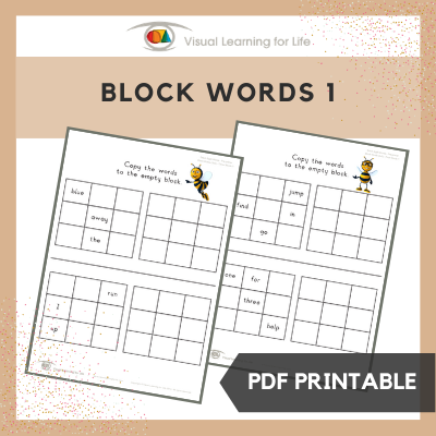 Block Words 1