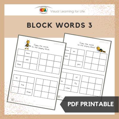 Block Words 3