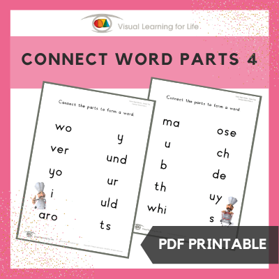 Connect Word Parts 4