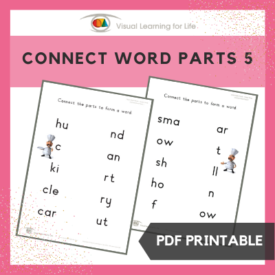 Connect Word Parts 5