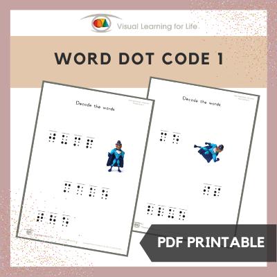 Word Dot Code 1