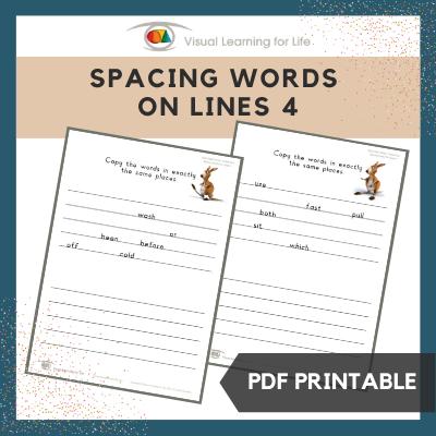 Spacing Words on Lines 4