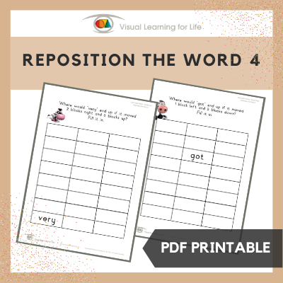 Reposition the Word 4