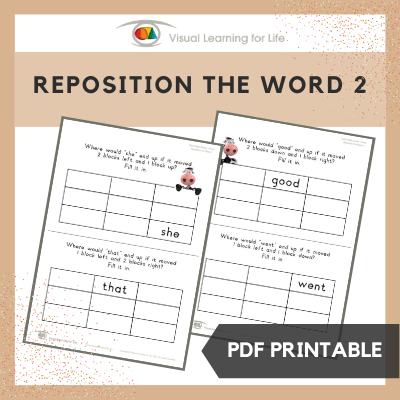 Reposition the Word 2