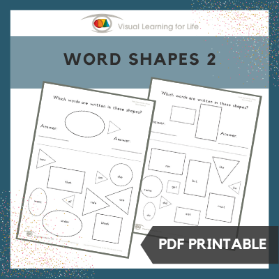 Word Shapes 2