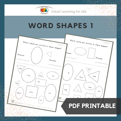 Word Shapes 1