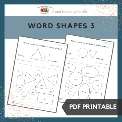 Word Shapes 3
