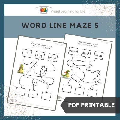 Word Line Maze 5