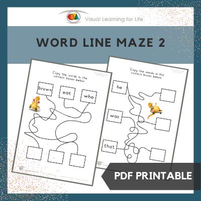 Word Line Maze 2