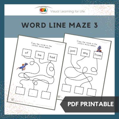 Word Line Maze 3