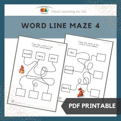 Word Line Maze 4