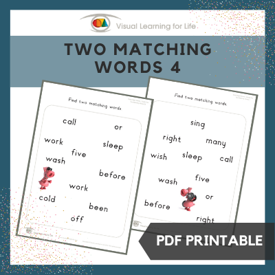 Two Matching Words 4