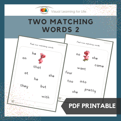 Two Matching Words 2