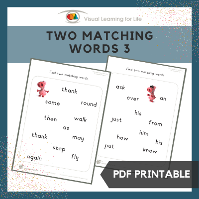 Two Matching Words 3
