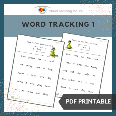 Word Tracking 1