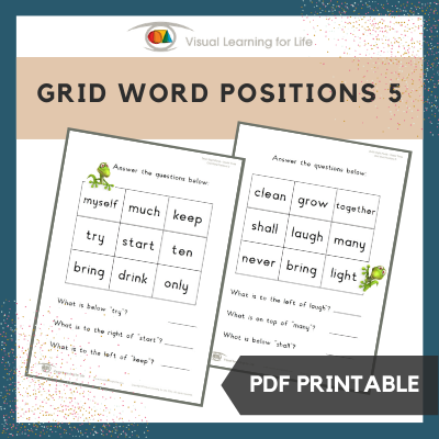 Grid Word Positions 5