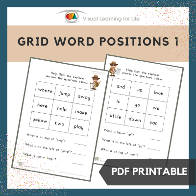 Grid Word Positions 1