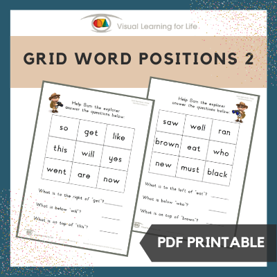 Grid Word Positions 2