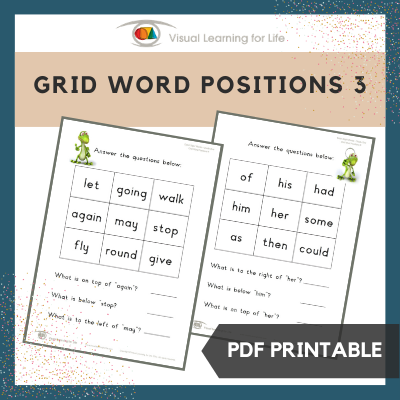 Grid Word Positions 3