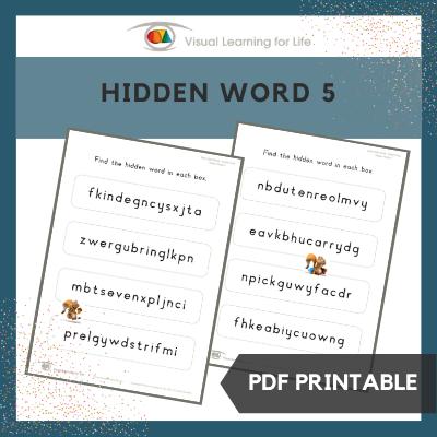 Hidden Words 5
