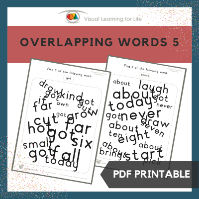 Overlapping Words 5