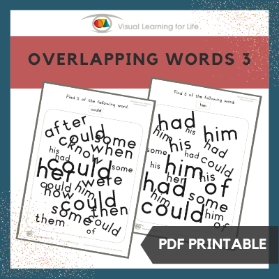 Overlapping Words 3