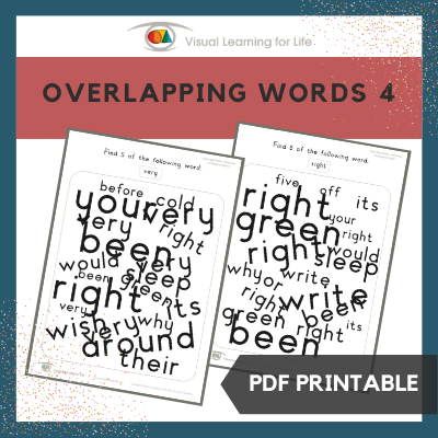 Overlapping Words 4