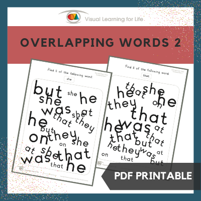 Overlapping Words 2
