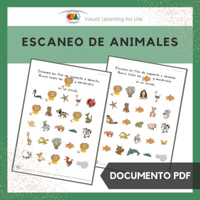 Escaneo de Animales
