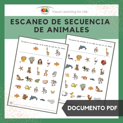 Escaneo de Secuencia de Animales