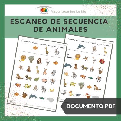 Escaneo de Secuencia de Animales