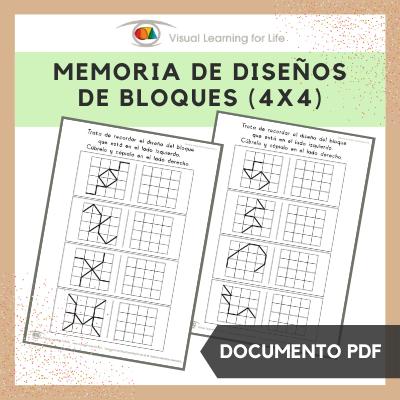 Memoria de Diseños de Bloques 4x4