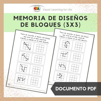 Memoria de Diseños de Bloques 3x3