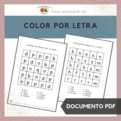 Color por Letra