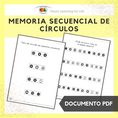 Memoria Secuencial de Círculos