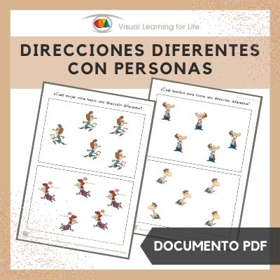Direcciones Diferentes con Personas