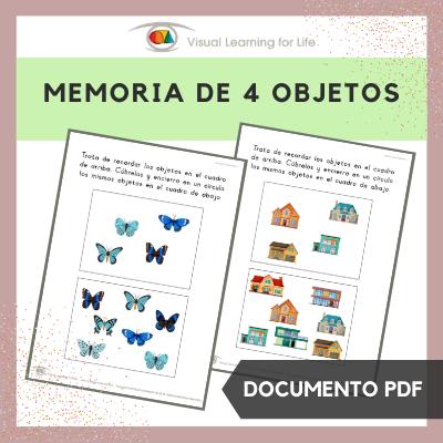 Memoria de 4 Objetos