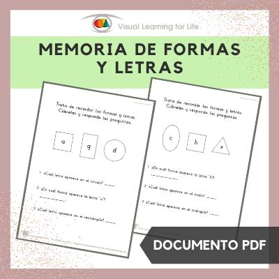 Memoria de Formas y Letras