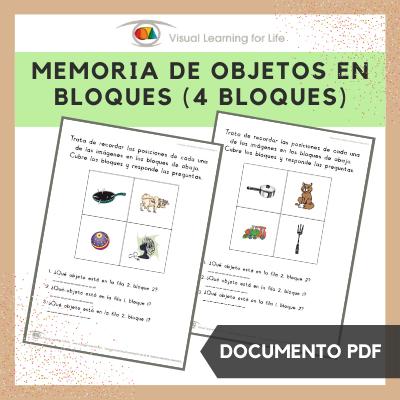 Memoria de Objetos en Bloques (4 Bloques)