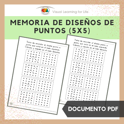 Memoria de Diseños de Puntos 5x5