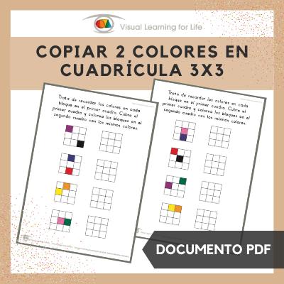 Copiar 2 Colores en Cuadrícula 3x3