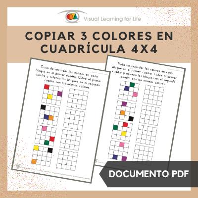 Copiar 3 Colores en Cuadrícula 4x4