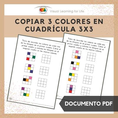 Copiar 3 Colores en Cuadrícula 3x3