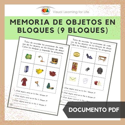 Memoria de Objetos en Bloques (9 Bloques)