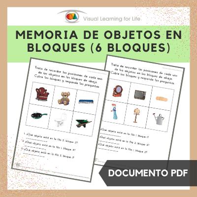 Memoria de Objetos en Bloques (6 Bloques)