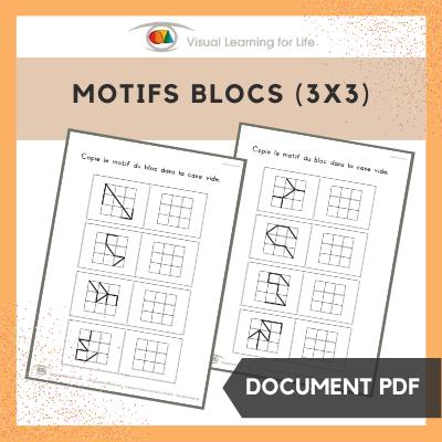 Motifs bloc 3x3